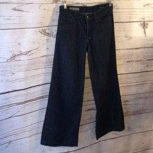 Anthropologie COH boho wide leg gaucho jeans